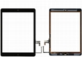 Touch Screen Glass Digitizer Replacement with Home Flex,Adhesive for iPad Air 1