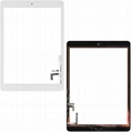 Touch Screen Glass Digitizer Replacement with Home Flex,Adhesive for iPad Air 2