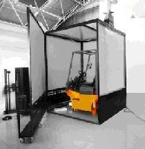 装载机叉车操作训练模拟器