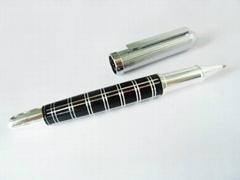 Silver CNC engraving Ballpoint Pen Metal Parker type refill Pens