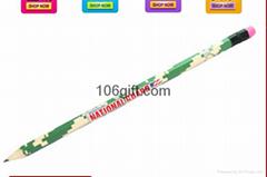 Thermal transfer pencil Silkscreen wooden Pencil