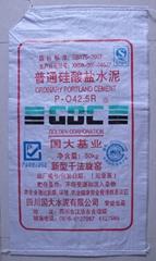 Angola cheap cement polypropylene bag