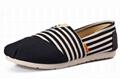 Casua Rubber Sole Flat  Slip On canvas shoes For Women 1
