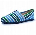 Casua Rubber Sole Flat  Slip On canvas shoes For Women 4