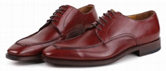 sharp toe formal style genuine leather