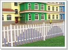 pvc塑钢社区护栏 2