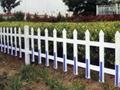 pvc草坪塑钢护栏 4
