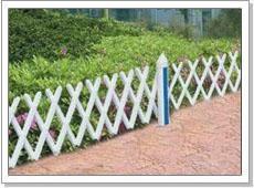 pvc草坪塑钢护栏 5