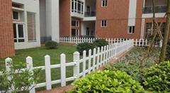 pvc高品質白色塑鋼社區護欄
