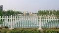 塑钢花园小区护栏
