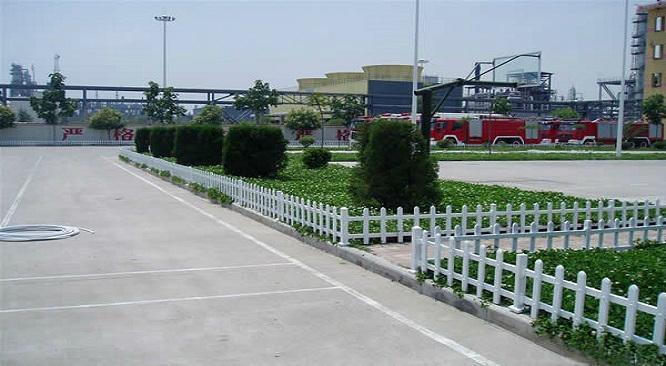 園林pvc花草護欄柵欄 2