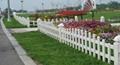 园林pvc花草护栏栅栏