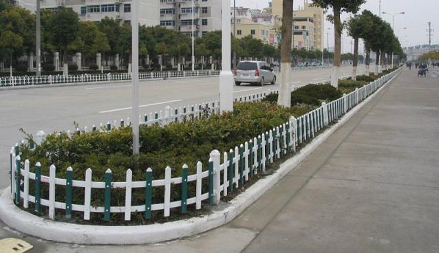 pvc花草護欄圍欄欄杆 1
