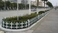 pvc花草护栏围栏栏杆