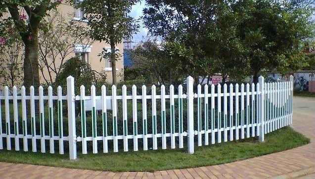 pvc花草護欄圍欄欄杆 4