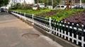 pvc花草護欄圍欄欄杆 5