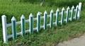 pvc草坪塑钢护栏 1