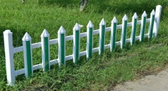 pvc草坪塑钢护栏