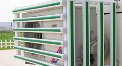 pvc百叶窗空调护栏罩