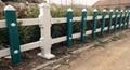 pvc草坪護欄安裝簡易
