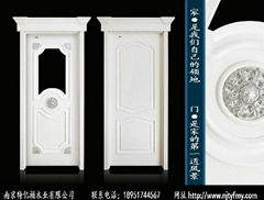 南京特亿福白色烤漆套装门