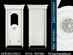 南京特億福白色烤漆套裝門