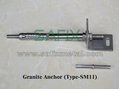 L Granite Anchor Fixing system