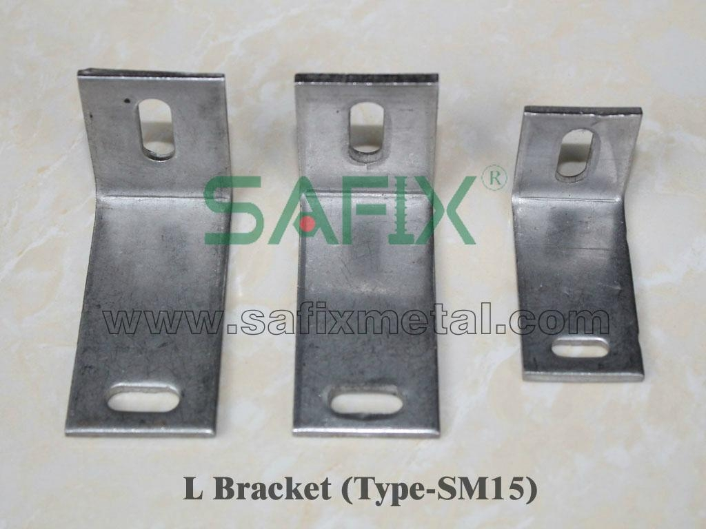 L bracket of stone cladding fixings - SM15 - marble anchors
