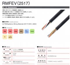 日本大电(DYDEN)RMCV防油拖链线