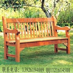戶外公園長椅