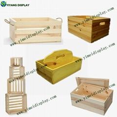 customer design  Vintage wooden crate