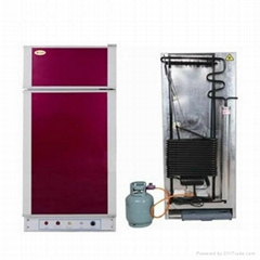 Large Capacity Silent Gas Kerosene Refrigerator with Freezer (HP-XCD300)