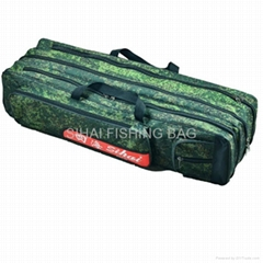 Supply 80cm Camouflage Fishing Bags Three Main Pockets Fishing Gear Bags