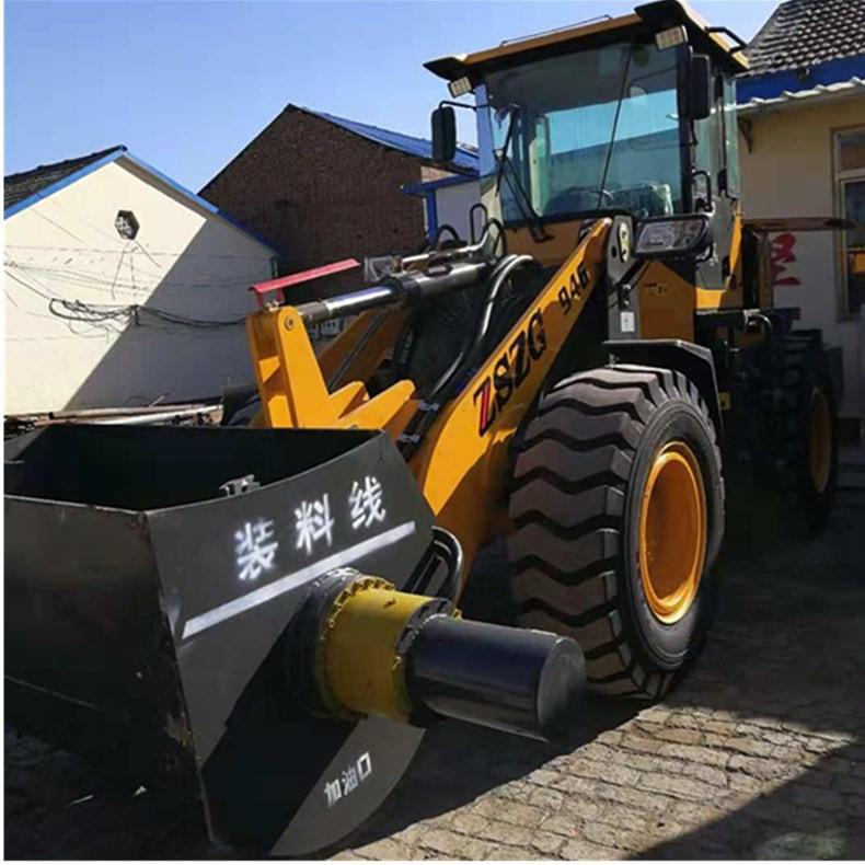 铲斗可以搅拌铲车定做改装混凝土搅拌铲斗厂家中首重工 2