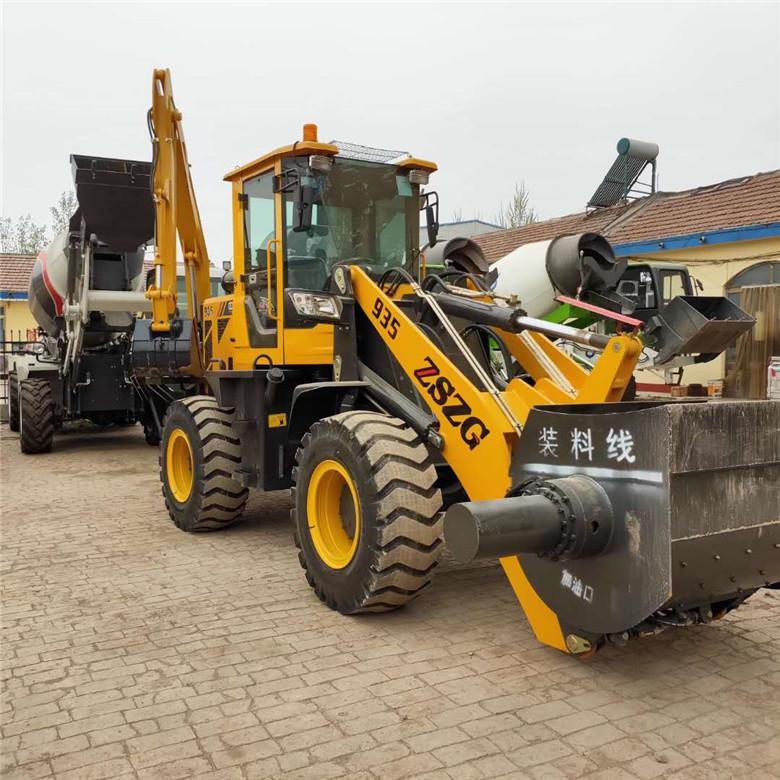 铲斗可以搅拌铲车定做改装混凝土搅拌铲斗厂家中首重工 3