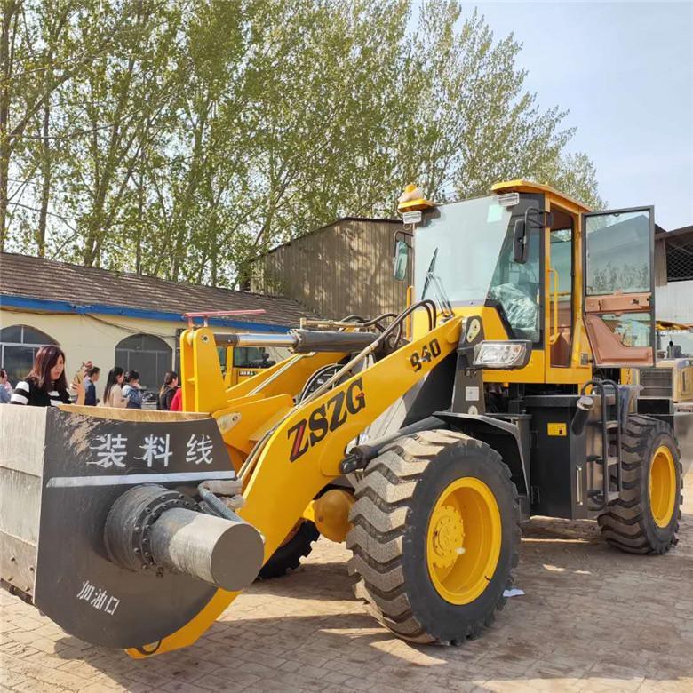 铲斗可以搅拌铲车定做改装混凝土搅拌铲斗厂家中首重工 4