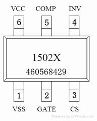 高精度原边反馈恒流恒压控制器QX1502