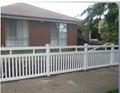 Anti rust wrought iron fence
