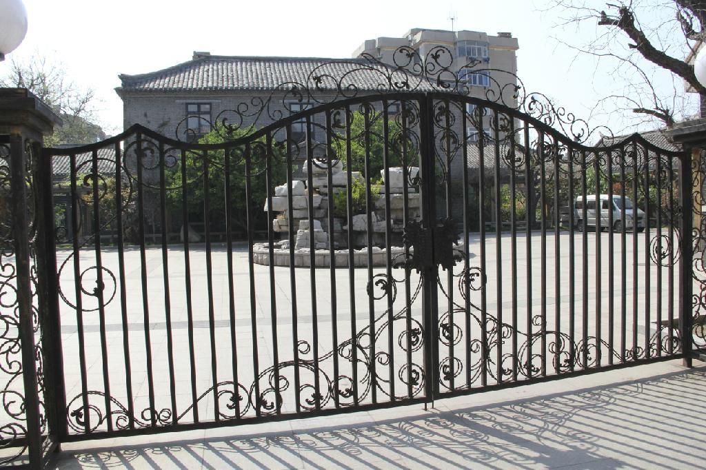 Sliding Wrought Iron Gates for Driveway Hard Skill Gate 1