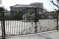 Sliding Wrought Iron Gates for Driveway Hard Skill Gate