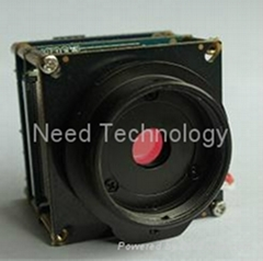 OEM WDR CMOS P2P micro camera module with C/CS mount Lens and motion detect
