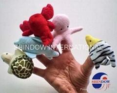 plush fingger puppets hand puppets sea animal