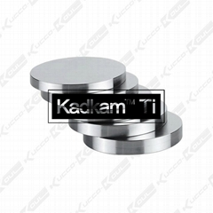 Kadkam Ti pure titanium discs and titanium alloy CAD/CAM milling blocks