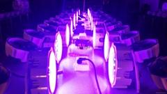 18pcs*12W LED 4 in 1 Waterproof Par Can light