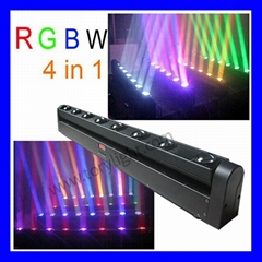 8*10W LED 4 in 1 bar light/stage light