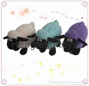 2014 new fashion design plush sheep custom plush toy 1