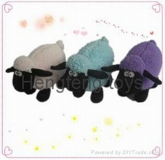 2014 new fashion design plush sheep custom plush toy