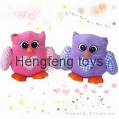 plush and stuffed toys animals owl