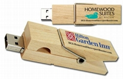 H006-wood clip usb flash drive/Eco friendly usb /OEM usb/Creative usb drive