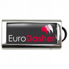 UDP041-Epoxy usb flash drive, Metal usb drive, Slide usb flash drive